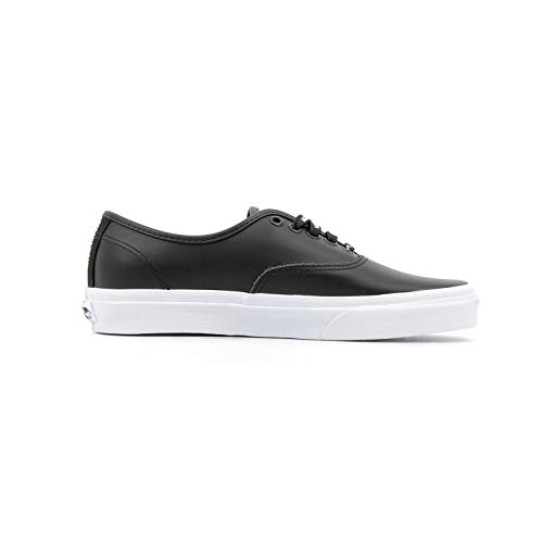 8emukm1 Authentic Bianco otw Sneakers Nero Webbing Nero 44 5 Vans leath Black 8qwZ5