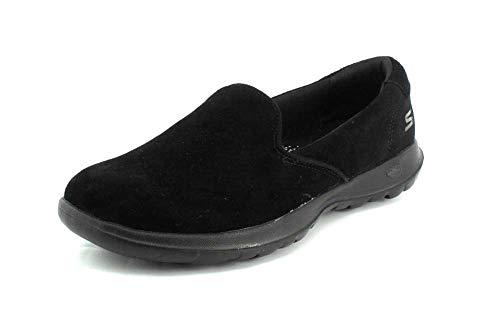Lite Brillante Glam Negro glamuroso Go Skechers15363 Walk Mujer qwFx4vcEU