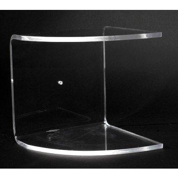 Accessori Per Il Bagno In Plexiglass.Mensole Da Bagno In Plexiglass Azzeta Ad Angolo Arredo Bagno O