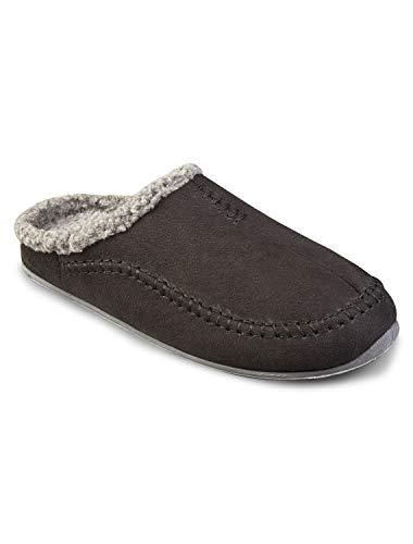 Deer Stags Nordic Slippers (13 W, Black) ()