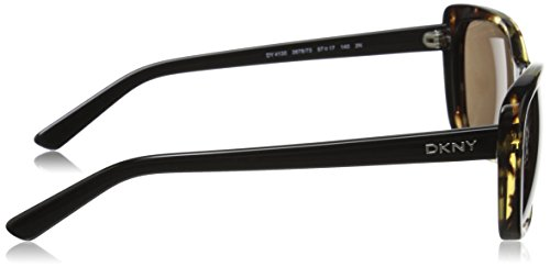 de 0Dy4130 Mujer 57 Sol Gafas Tortoise DKNY para OpqnBOx