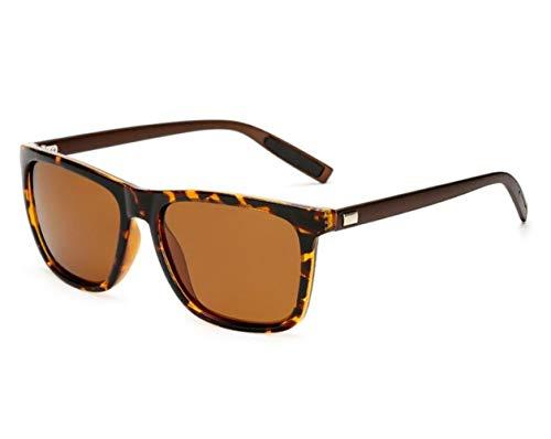 conducir aire Guay retro al libre polarizadas Hombres Pesca viajar UV400 de Gafas para Huyizhi gafas Coffee de Mujeres protectoras sol sol para 6BBTAqx
