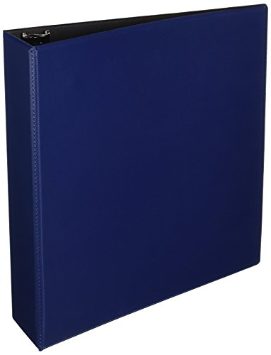 Avery Durable Binder, 2 Slant Rings, 500-Sheet Capacity, DuraHinge, Blue - Reference Binders View Durable Avery