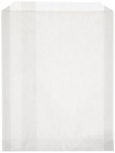 100-piece-6-1-2-x-1-x-8-size-pb25-white-grease-resistant-sandwich-paper-bag