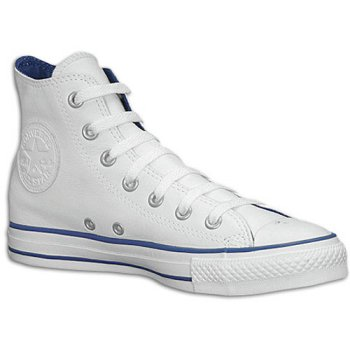 Converse Mens Chuck Taylor All Star High Top Wit / Royal