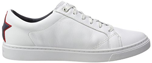 Blanc Femme Tommy Sneakers Basses White V1285enus 19a1 Hilfiger PUxUZY