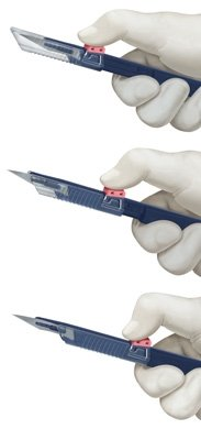 Feather Safeshield Disposable Scalpel Sterile #24, (Feather Sterile Disposable Scalpels)