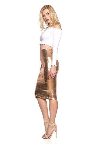 08c34be60f2 Cemi Ceri Women's J2 Love Faux Leather Pencil Skirt - Chse size ...