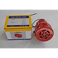 MS-190AC 220–240V AC 120db alarma Industrial Motor sirena