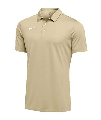 Nike Mens Dri-FIT Short Sleeve Polo Shirt (Medium, Team Gold)