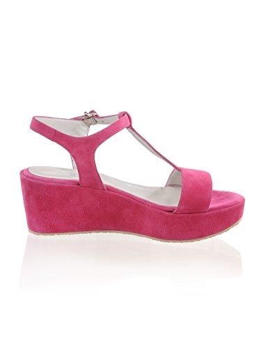 Alba Moda Sandalette mit Satin, rosa, rosa