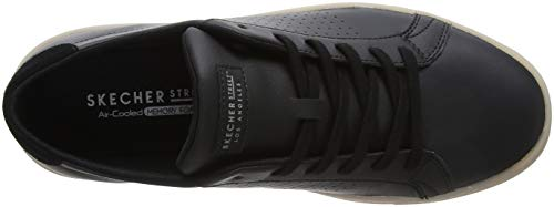 Black Street Bkw White Skechers Sneaker Side Uomo Ostmoor Nero wFYxBqgPa