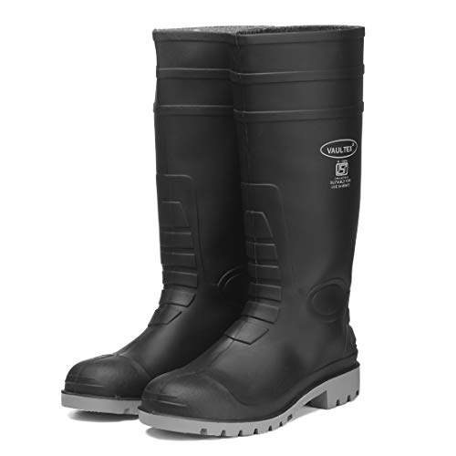 Vaultex Men's Black PVC ISI Mark Industrial Purpose Super Safety/Welsafe Gum Boots – (6) Price & Reviews