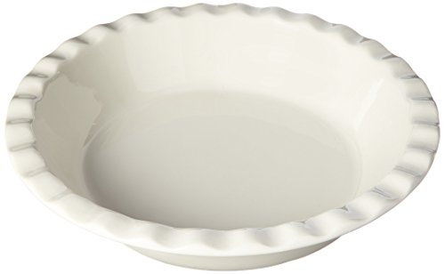 Maxwell and Williams Basics Pie Dish, White by Maxwell and Williams Designer Homewares