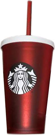 Starbucks Holiday 2018 Matte Red Cold Cup Tumbler 16 Ounce