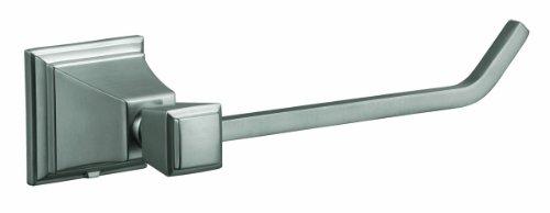 Design House 560490 Torino Euro Toilet Paper Holder, Satin Nickel (Euro Satin Toilet Paper Holder)