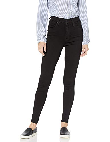 Levi's Women's Mile High Super Skinny Jeans, New Moon, 25 (US 0) R (Brand Name Women Clothing)