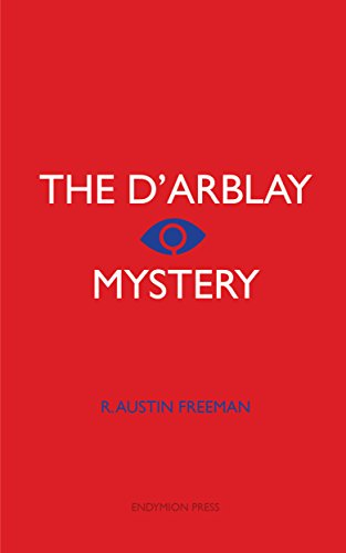 book cover of The D\'Arblay Mystery