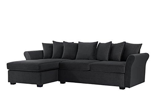 Modern Large Velvet Sectional Sofa
