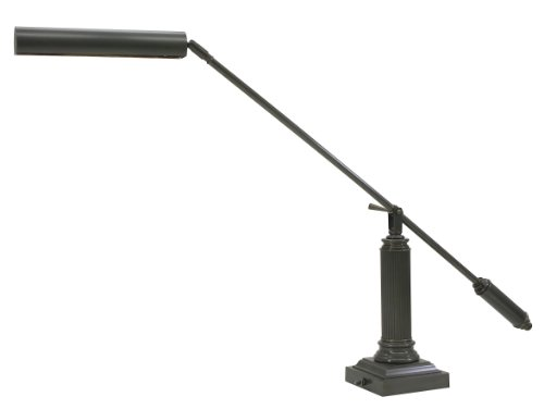 Adjustable Grand Lamp Piano (House Of Troy P10-191-81 Counter Balance 26-Inch Portable Piano/Desk Lamp, Mahogany Bronze)