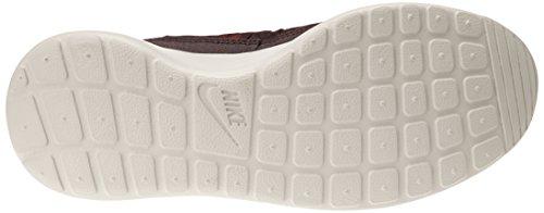 NIKE Wmns Rosherun Hi Sneakerboot - Calzado de deporte de material sintético mujer - 0 (DEEP BURGUNDY/TEAM RED-LGHT BN)