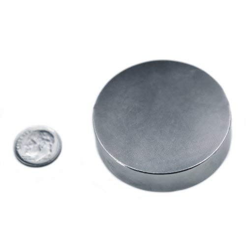 "Applied Magnets 2"" x 1/2"" Grade N42 Neodymium Disc for sale  Delivered anywhere in USA"