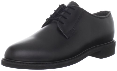 Bates Women's Leather Uniform Shoe,Black,6 M US