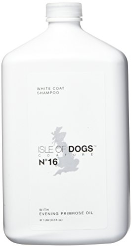 Isle of Dogs Coature No. 16 White Coat Evening Primrose Oil Dog Shampoo, 1 liter