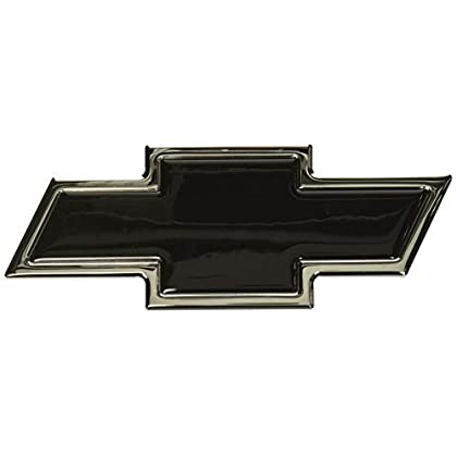 Image of Emblems All Sales 96108KC Ami Chevy Bowtie Grille and Lift Gate Emblem, Chrome/Black (Pack of 2)