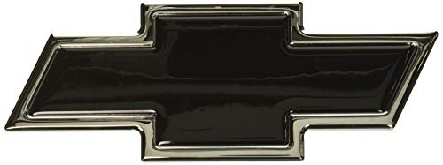 (All Sales 96108KC Ami Chevy Bowtie Grille and Lift Gate Emblem, Chrome/Black (Pack of 2))