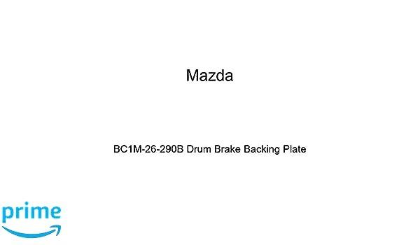 Mazda BC1M-26-290B Drum Brake Backing Plate