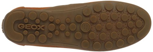 Geox U Giona D, Mocasines para Hombre Naranja (Rustc6037)
