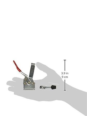 300lbs Capacity POWERTEC 20327 Horizontal Quick-Release Toggle Clamp 4PK 201B