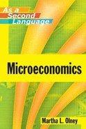 Microeconomics as Second Language