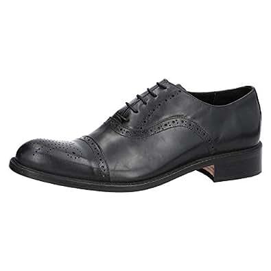 Konfidenz Black Oxford & Wingtip For Men