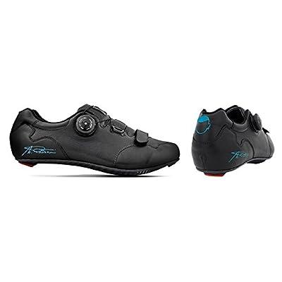 "'Chaussures cyclisme artisanales respirantes Made en Italy modèle ""Marco Pantani Semelle carbone en véritable cuir 39/46"