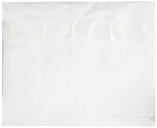 Survivor R4650 Tyvek Booklet Expansion Mailer, 12 x 16 x 2, White (Case of 100) by Quality Park (Image #1)