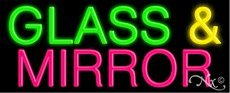 Glass & Mirror Handcrafted Real GlassTube Neon Sign by Accent Printing & Signs