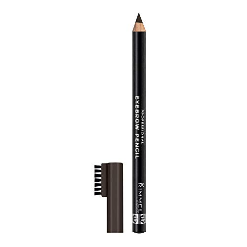 Rimmel Professional Eyebrow, Black Brown, 0.05 Ounce (Pack of 3) ()