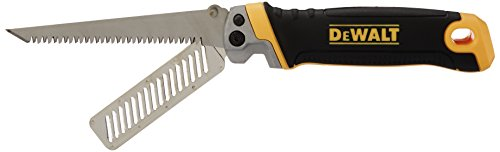 DEWALT DWHT20123 2-in-1 Folding Jab Saw/Rasp Blade - Edge Saw Drywall