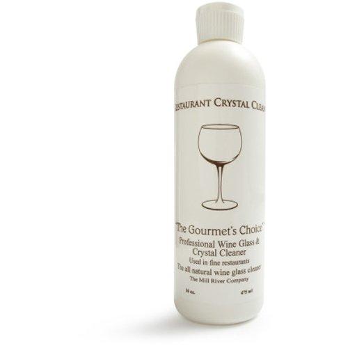 レストランクリスタルクリーン: Professionalワインガラスクリーナーとクリスタルクリーニング液体- 16オンス B00AY6XNLI