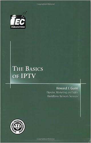 The Basics of IPTV (Basics Books series): Howard J  Gunn