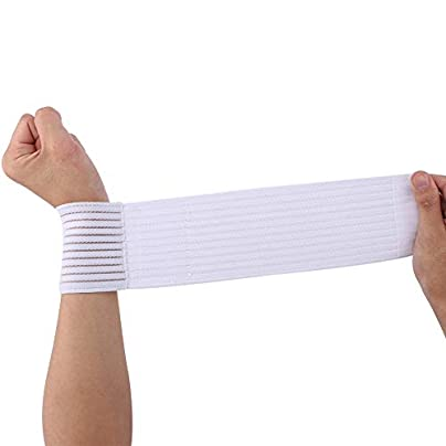 Fitness Elastic Bandage Hand Wrist Strap Wrap Sport Arthritis Wristband Estimated Price -