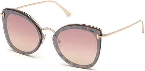 0235e9e384 Sunglasses Tom Ford FT 0657 Charlotte 55Z coloured havana gradient