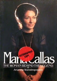 Maria Callas by Arianna Stassinopoulos