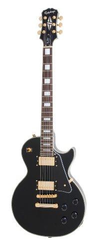 Epiphone Les Paul Custom Electric Guitar, Ebony