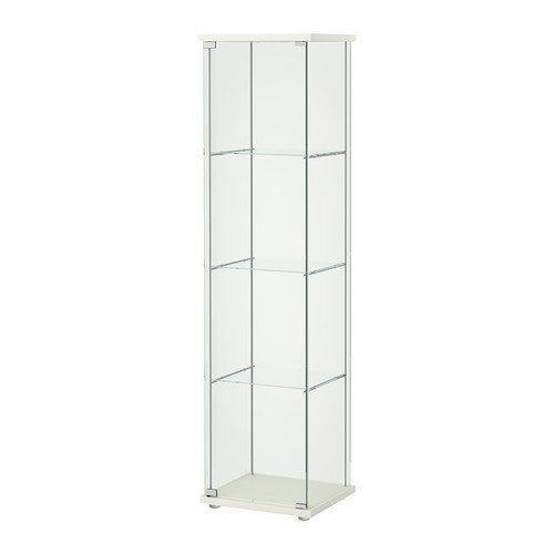 Detolf Glass Curio Display Cabinet product image