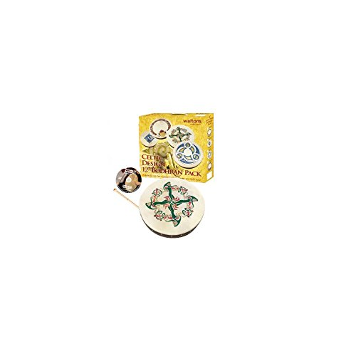 Waltons 12 Skellig Design Bodhran Pack Gift Set AA5390731031998