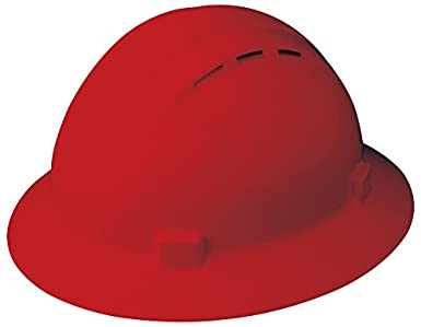 ERB seguridad productos 19334 Americana completo Brim rejilla de ventilación estándar, tamaño: 6 1
