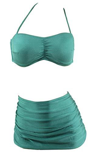 da Costume verde Glanzgrün intero bagno beachwear Aloha qSBEx